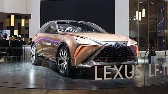 Lexus LF1 concept mejeng di GIIAS 2019.