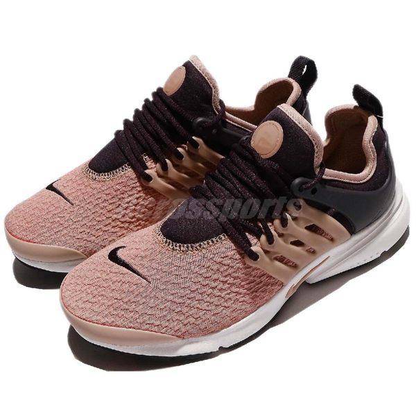 Nike 休閒慢跑鞋 Wmns Air Presto 粉紅 紫 白底 低筒 魚骨鞋 運動鞋 女鞋【PUMP306】 878068-604