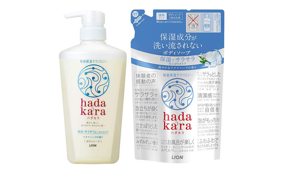 日本女生總是香香的?日本女性最愛的這些沐浴乳,下次去日本我也要囤貨! Hadakara