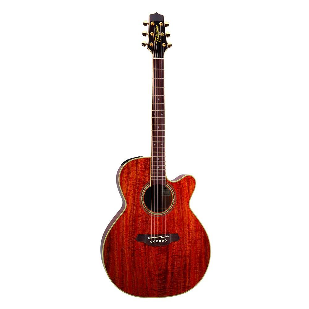 日本高峰吉他 Takamine EF-508KC Legacy傳奇經典系列 全KOA夏威夷相思木 面背側板 精選的華麗相思木 木紋奢華狂野 聲音扎實清晰 中高頻突出 延音長且甜美 搭配Takamine