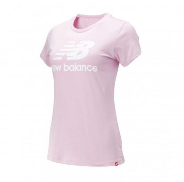 New Balance 女款LOGO粉色短袖上衣-NO.AWT91546OXP