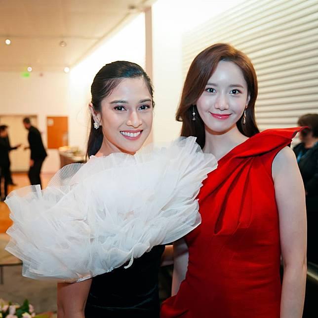 Dian Sastro dan Yoona © instagram.com/therealdisastr
