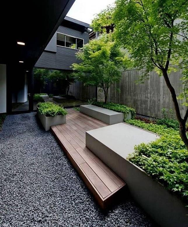 Tak Perlu Lahan Luas Untuk Mempercantik Rumahmu Desain Taman Ini