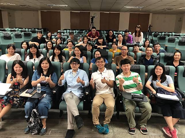 ▲「詞神」林夕獲文化部之邀為在台灣授課。(圖/詠聯文創科技提供)