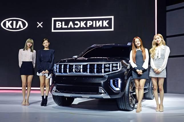 Kia, Blackpink kenalkan tiga mobil konsep