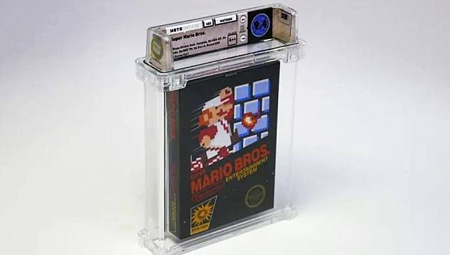Jadi Game Jadul Termahal, Super Mario Bros versi NES Ini Laku Terjual Rp1,6 Miliar!