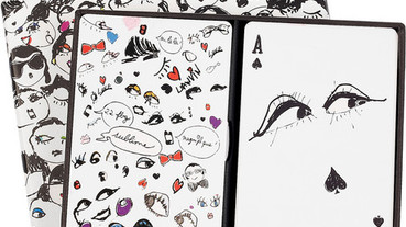 Lanvin Faces Playing Cards 浪凡撲克牌