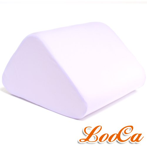 【LooCa】吸濕排汗萬用三角靠墊(紫色)