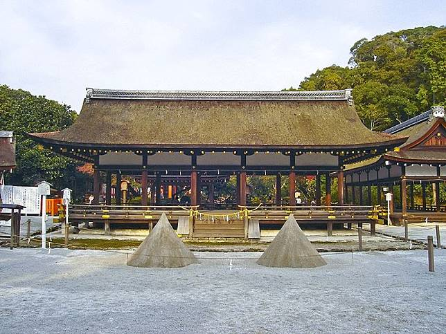 賀茂別雷神社又名上賀茂神社,位於京都市北區。(互聯網)
