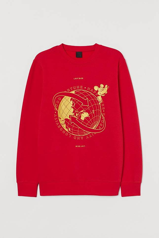 The Itchy and Scratchy Show紅色男裝衞衣(互聯網)