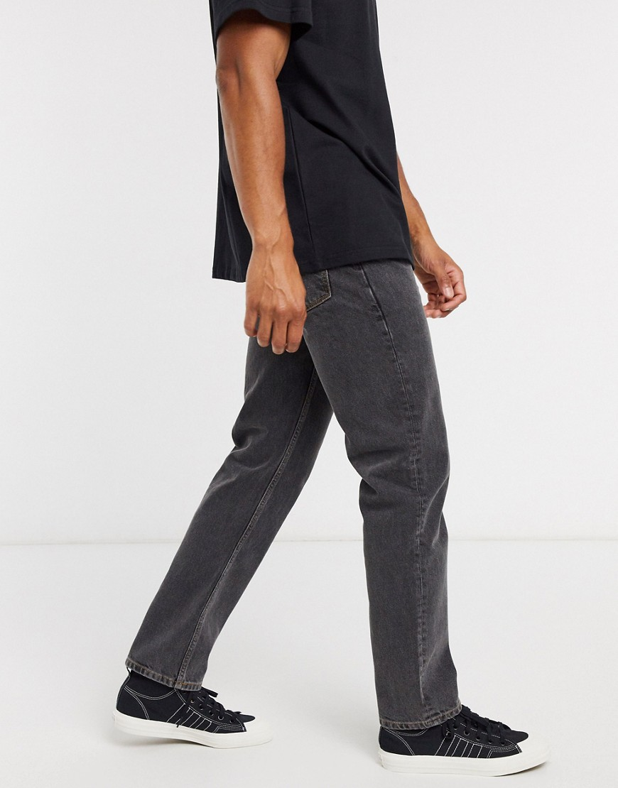 Jeans by ASOS DESIGN Part of our responsible edit Regular rise Belt loops Five pockets Straight fit