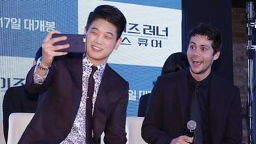 《移動迷宮:死亡解藥》韓國宣傳,三名重要男性角色聯手登台!