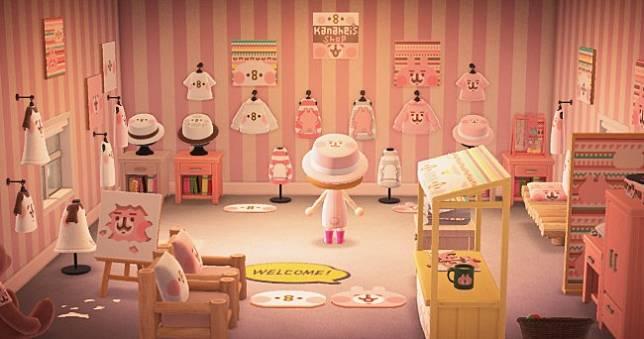 卡娜赫拉《動物森友會》官方旗艦店開張😍教你下載粉紅兔兔跟P助設計