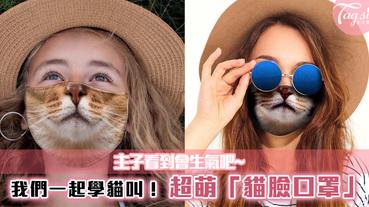 我們一起學貓叫!超萌「貓臉口罩」推出,主子看到會生氣吧~