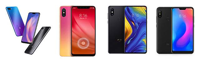 Thailand Mobile Expo 2019 Smartphone List Mi