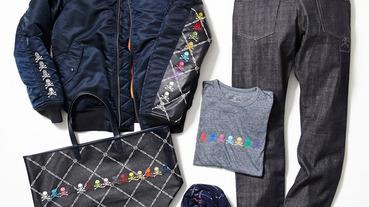 """彩色骷顱 / mastermind JAPAN x uniform experiment 2013 秋冬 """"Navy"""" 聯名系列產品"""