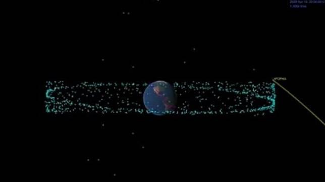 Asteroid Apophis. [YouTube/@Destiny]