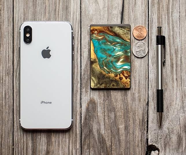 面積只有iPhone XS Max約2/3,輕巧便攜。(互聯網)