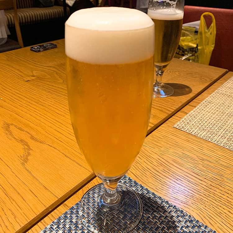 ユーザーが投稿したアサヒスーパードライの写真 - 実際訪問したユーザーが直接撮影して投稿した歌舞伎町イタリアンボンサルーテカブキの写真