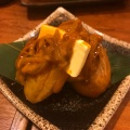 塩辛じゃがバター - 実際訪問したユーザーが直接撮影して投稿した高田馬場餃子ダンダダン酒場 高田馬場店の写真のメニュー情報