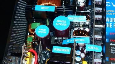 1000W ATX 電源供應器只有 12 公分!EVGA 創新變壓器有效縮小產品體積