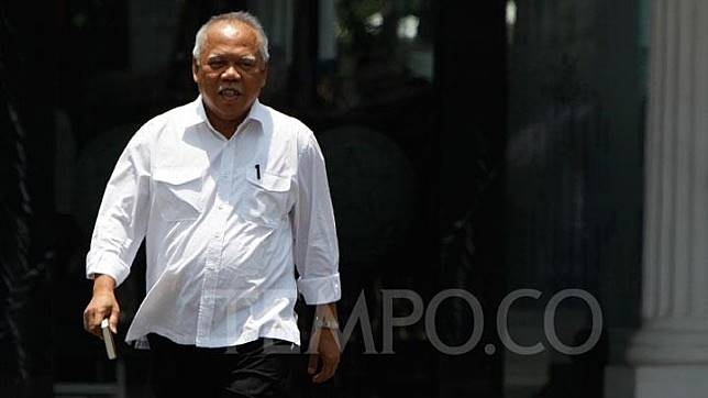 Basuki Hadi Meoljono tiba di Komplek Istana Kepresidenan, Jakarta, Selasa 22 Oktober 2019. TEMPO/Subekti.