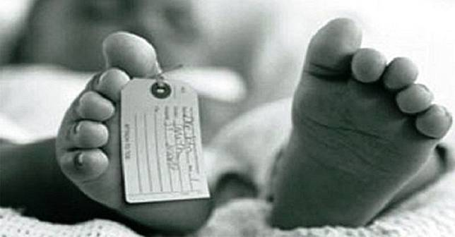 Ilustrasi jasad bayi. (Foto: Istimewa)