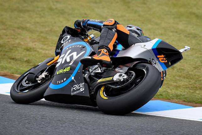 Luca Marini raih pole di Moto2 Jepang 2019