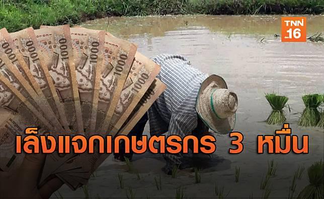 คลังเล็งแจกเงินเกษตรกร 9 ล้านครัวเรือน รับ 3 หมื่นเท่าอาชีพอิสระ