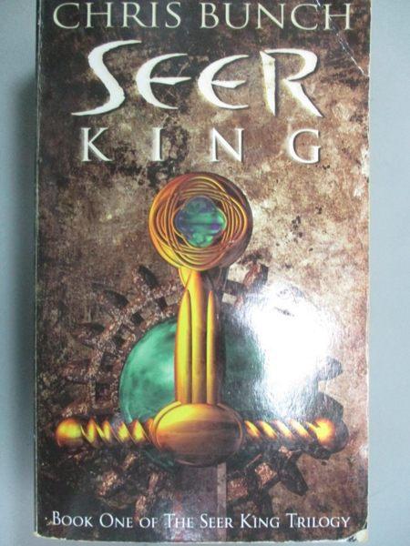 【書寶二手書T1/原文小說_NNW】The Seer King_Chris Bunch