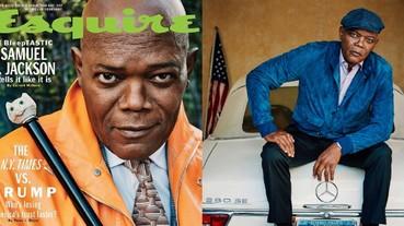 帥氣老頑童!70 歲山繆傑克森登上雜誌封面 Motherfucker 髒話王自爆愛看自己演的電影!