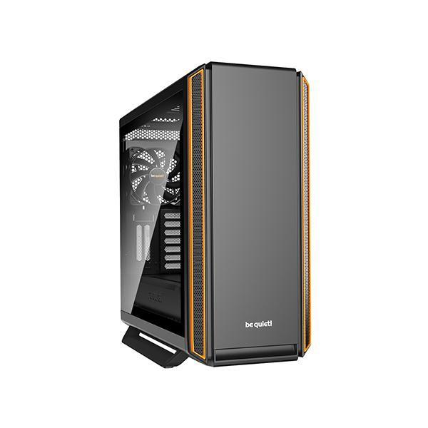 SILENT BASE 801WINDOW ORANGE絕佳的靜音與實用性be quiet! Silent Base 801 Window Orange 完美結合最大靜音性與絕佳可用性,造就超安靜配置