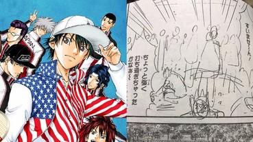 《網球王子》新連載直接上潦草原稿 日本漫畫迷傻眼:大家都在冨樫義博化嗎?