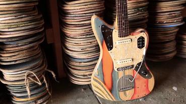你玩滑板,我做吉他:火紅的手作樂器品牌 Prisma Guitars
