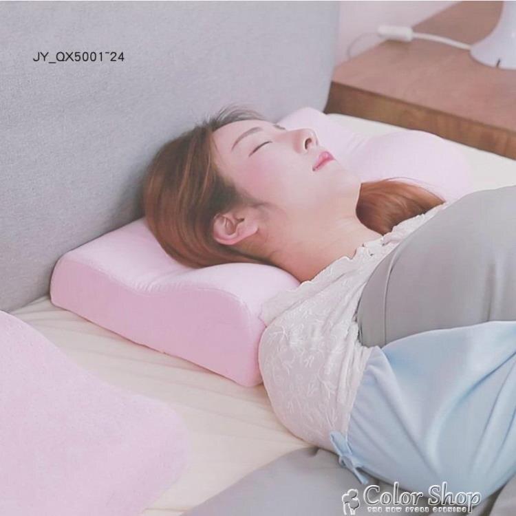 防打呼嚕器神器止鼾枕頭助眠冰絲枕套男生成人超柔軟舒適夏季新款 color shop YYP