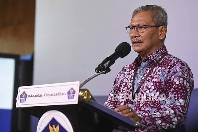 Juru bicara pemerintah untuk penanganan COVID-19 Achmad Yurianto. Rekor penambahan kasus positif Covid-19 kembali terpecahkan pada Kamis (9/7) ini, dengan 2.657 kasus baru dalam 24 jam terakhir.