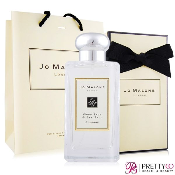 Jo Malone 鼠尾草與海鹽香水(100ml)-附紙盒+提袋+緞帶-國際航空版【美麗購】