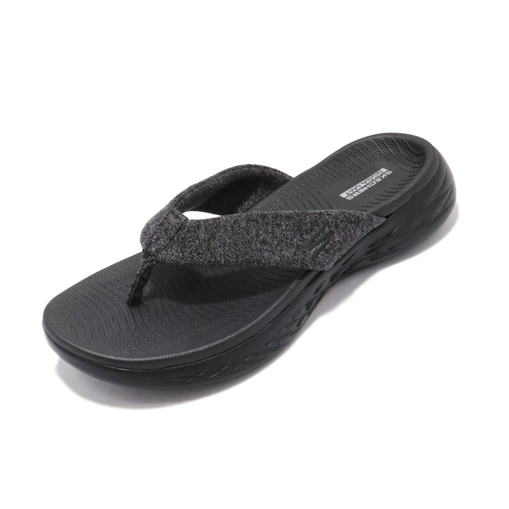 Skechers 拖鞋 On The Go 600 Best-Liked 黑 人字拖 女鞋 16154BBK 【ACS】