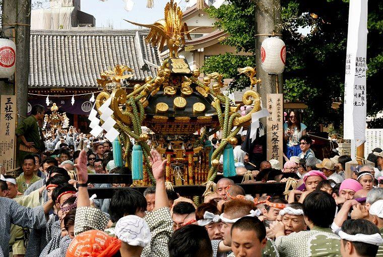 淺草三社祭 町內神輿