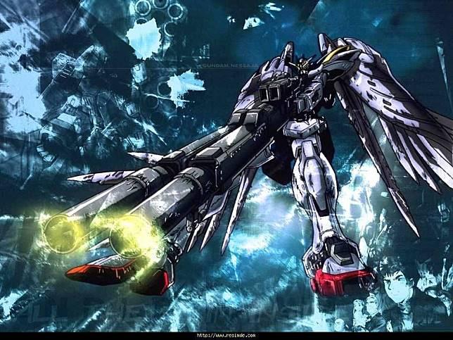 帥氣的Wing高達零式改,在1997出品的OVA《新機動戰記高達W 無盡的華爾茲》中華麗登場。(互聯網)