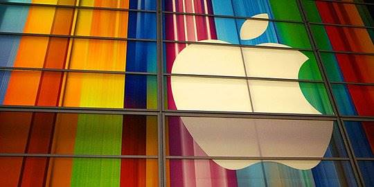 Logo Apple. © Telegraph