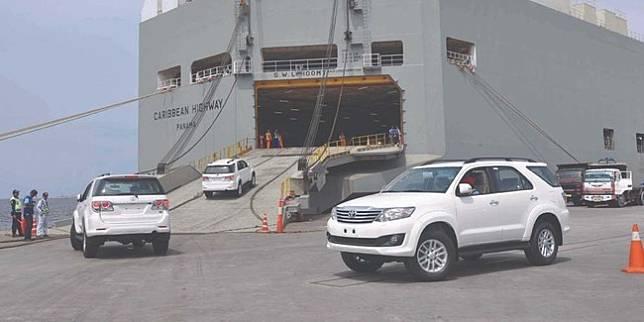 Ekspor Toyota (Istimewa)