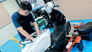 光陽扶植電動車人才,與台北市合作成立全台首間電動車技術教學中心