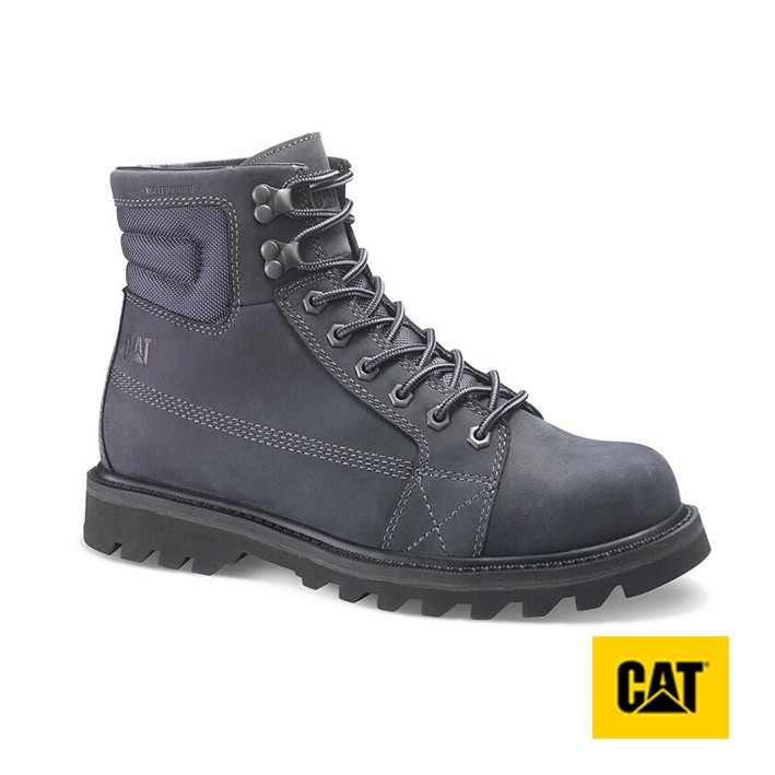 【CAT】男 / OVERPASS WP TX 城市系列防水男靴-黑(722777) - 原價4650元