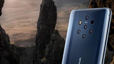 Nokia新旗艦,Nokia 9 PureView的五鏡頭能讓他們重返手機界的相機之王寶座嗎?