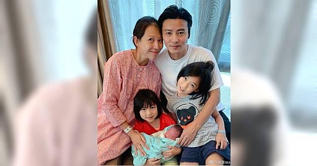 蔡少芬15日平安產子 老公張晉宣布「再不封肚我瘋」