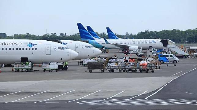 Ditjen Hubud lakukan inspeksi pesawat Boeing 737 NG.