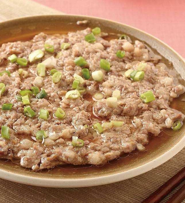 蒸肉餅係香港家常料理,但唔係人人煮得到完美鬆化彈牙滋味肉餅。(互聯網)