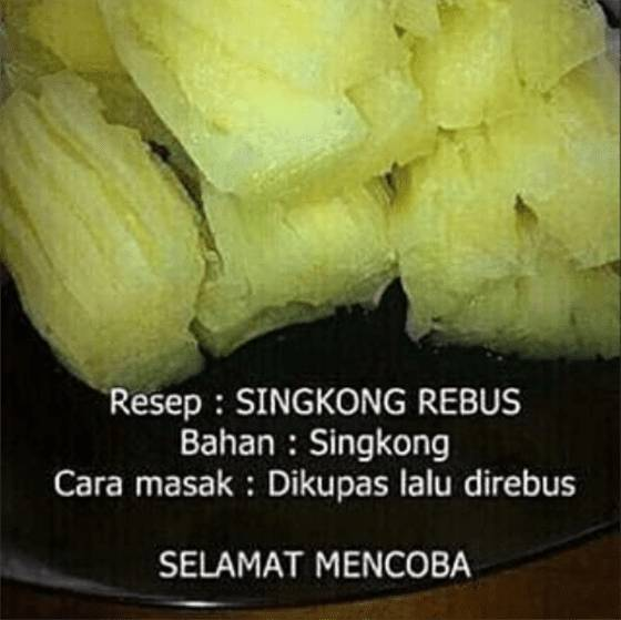 10 Meme Resep Masakan Nyeleneh Ini Nggak Bakal Bikin Kamu Jago Masak Sekelas Masterchef Jalantikus Com Line Today