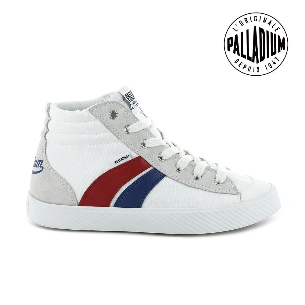 型號:96191-195個性、極簡、高辨識度法國經典帆布鞋款經典藍紅白三色青春活力與自由精神